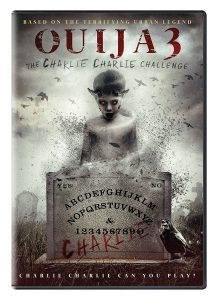 Ouija 3: The Charlie Charlie Challenge DVD