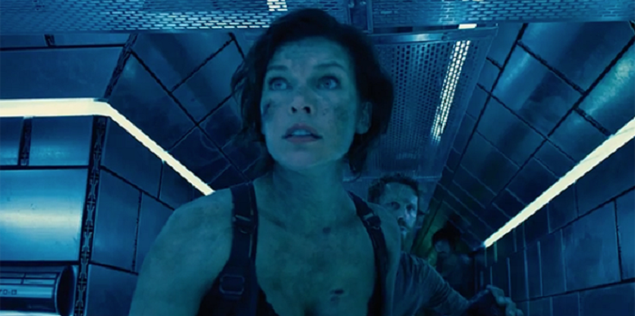 Alice and Crew Enter The Hive in Resident Evil: The Final Chapter