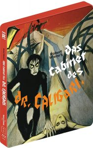 The Cabinet of Dr. Caligari (Steelbook) Blu-Ray