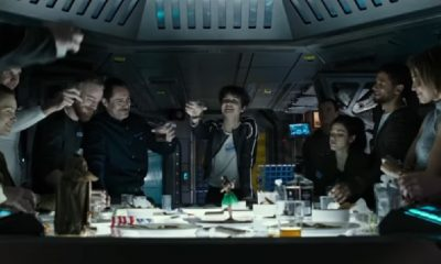 Ridley Scott's 'Alien: Covenant' Last Supper Clip Introduces the Crew