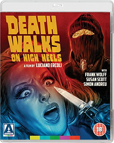 Death Walks On High Heels UK Blu-Ray