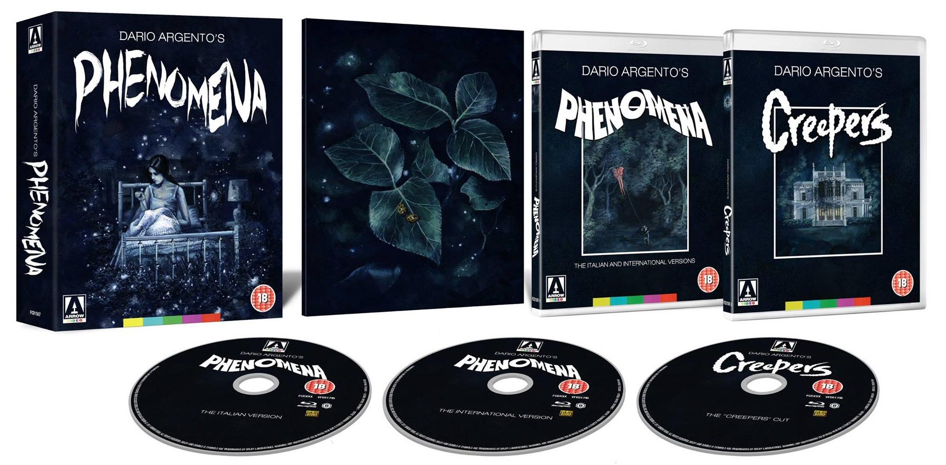 Phenomena Limited Edition UK Blu-Ray
