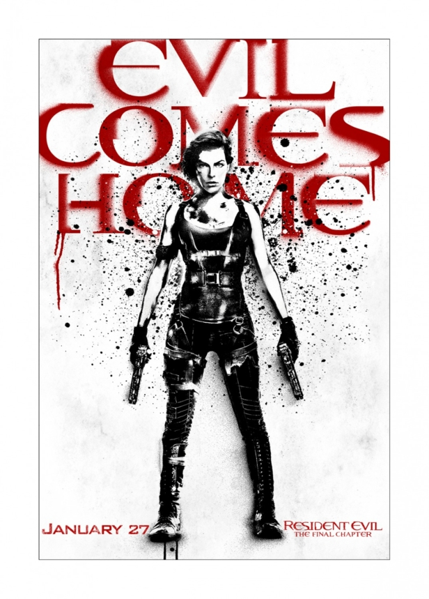 Two Awesome Resident Evil The Final Chapter Art Posters