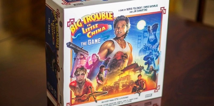 John Carpenter's 'Big Trouble in Little China' Gets a New Board Game!