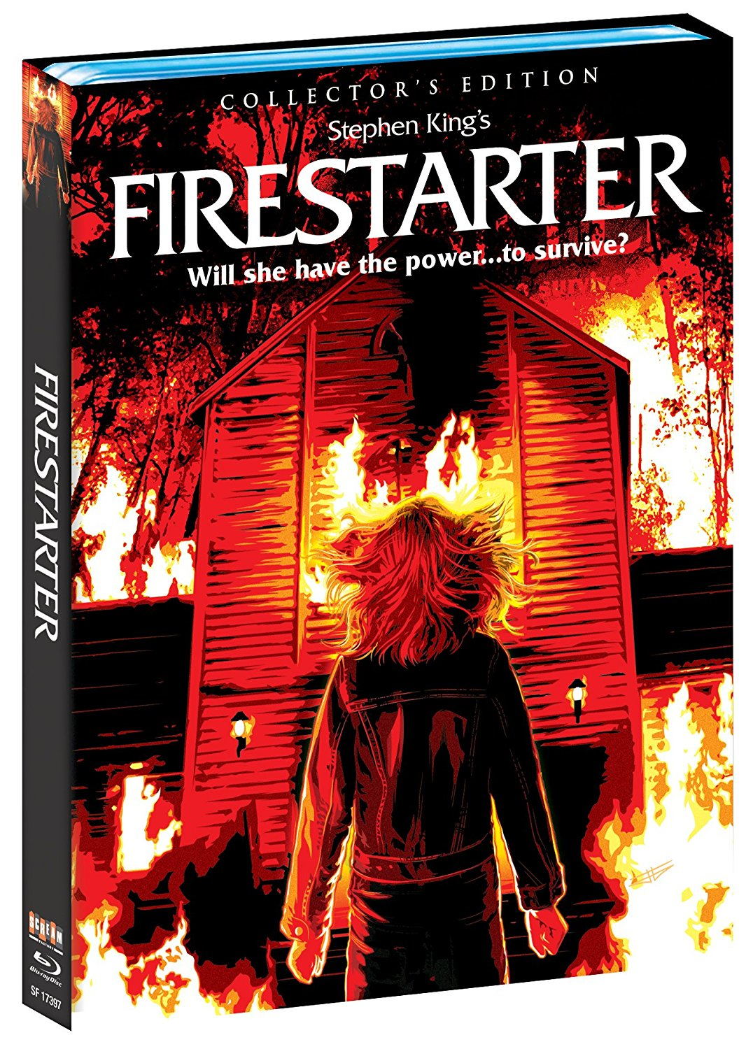 Scream Factory Firestarter Blu-Ray