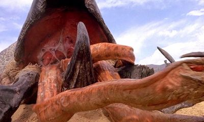 Don Michael Paul Shows 'Tremors 6' Shot Inside of a Graboid's Stomach