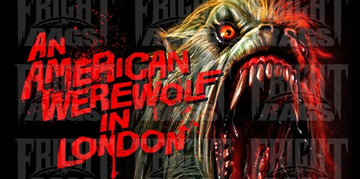 'An American Werewolf in London' Apparel Collection from Fright-Rags