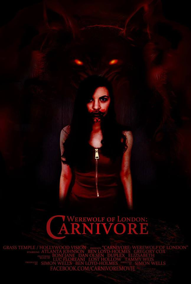 Carnivore Werewolf of London Poster