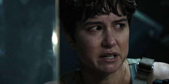 Katherine Waterston Faces an Xenomorph in This 'Alien: Covenant' Poster