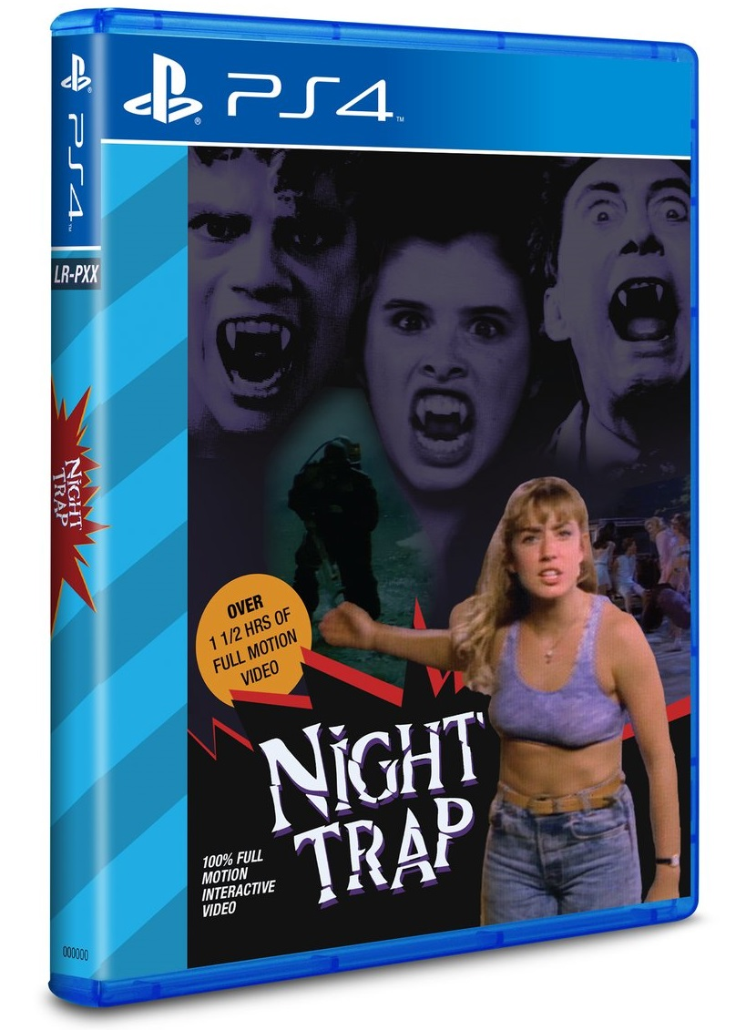 Night Trap PS4 Game