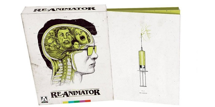 Take a Look at Arrow's Epic 'Re-Animator' Blu-Ray Set; Coming in July