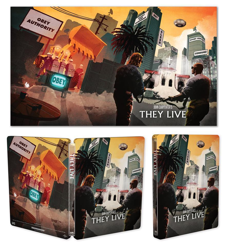 They Live Steelbook