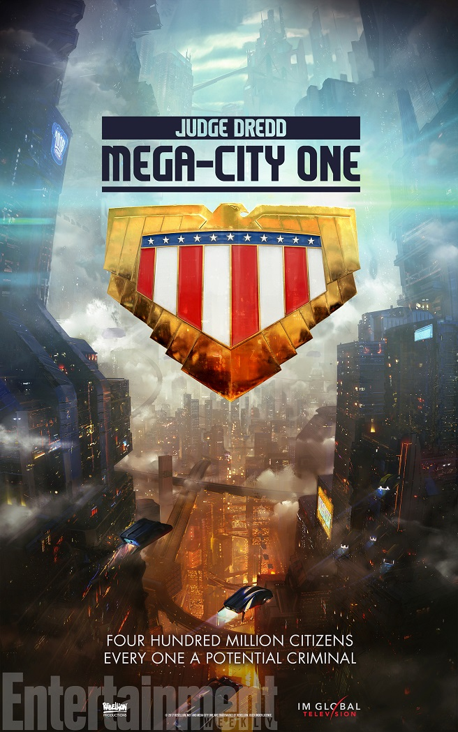Judge Dredd: Mega-City One Poster