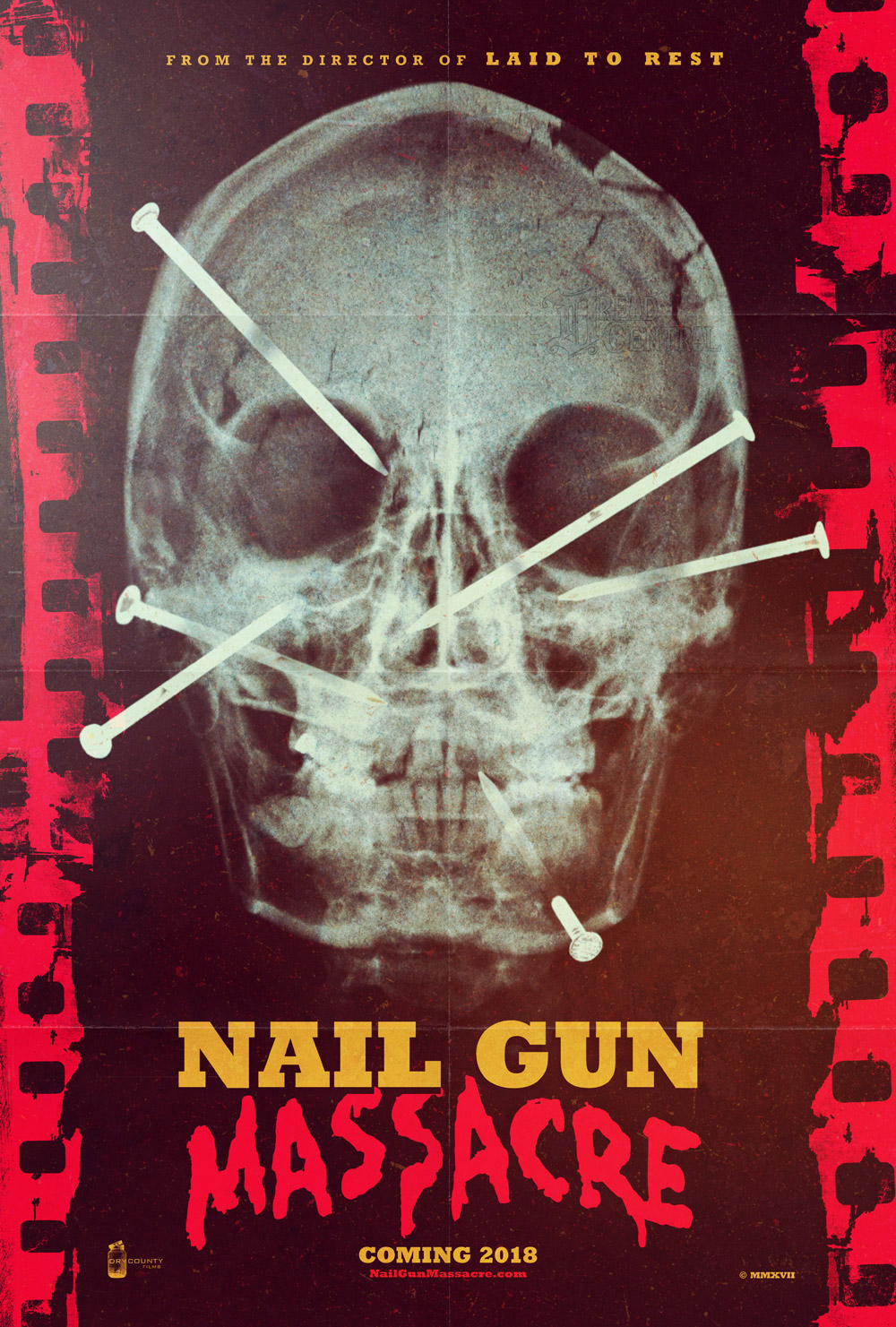 Nail Gun Massacre Remake Art Poster