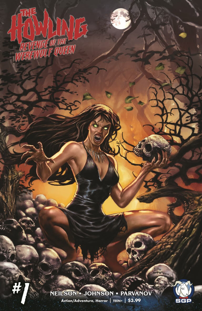 The Howling Revenge of the Werewolf Queen Comic 4-1
