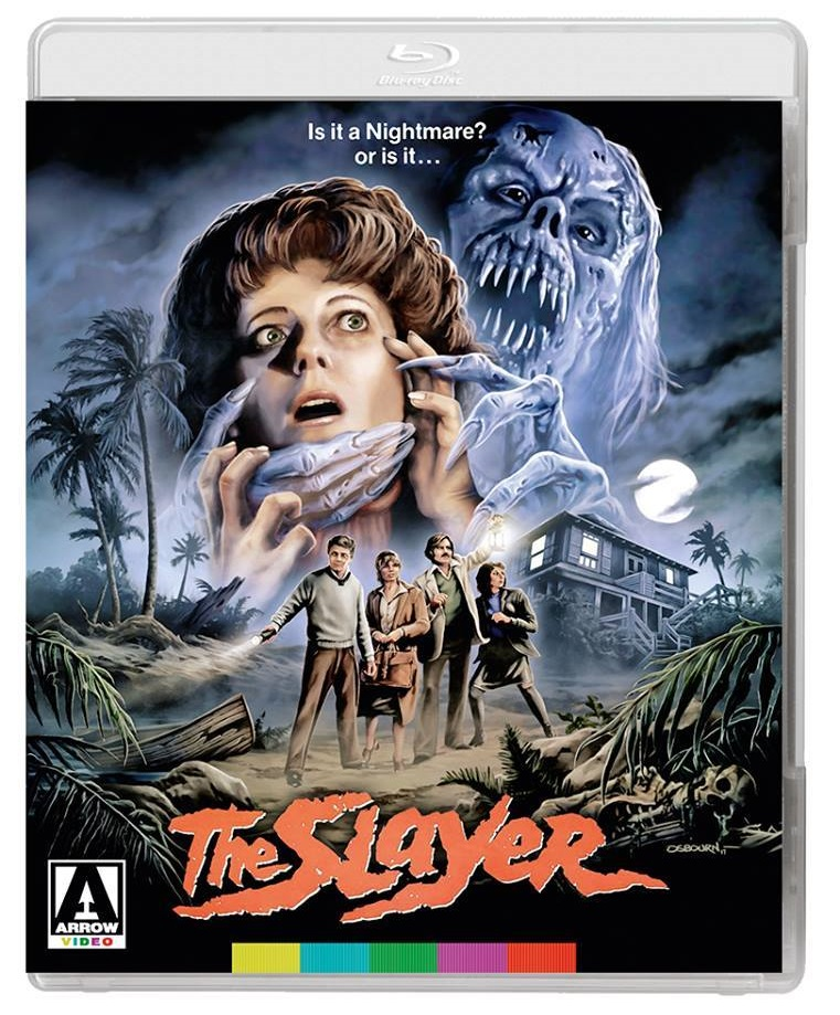 The Slayer Arrow Video Blu-Ray