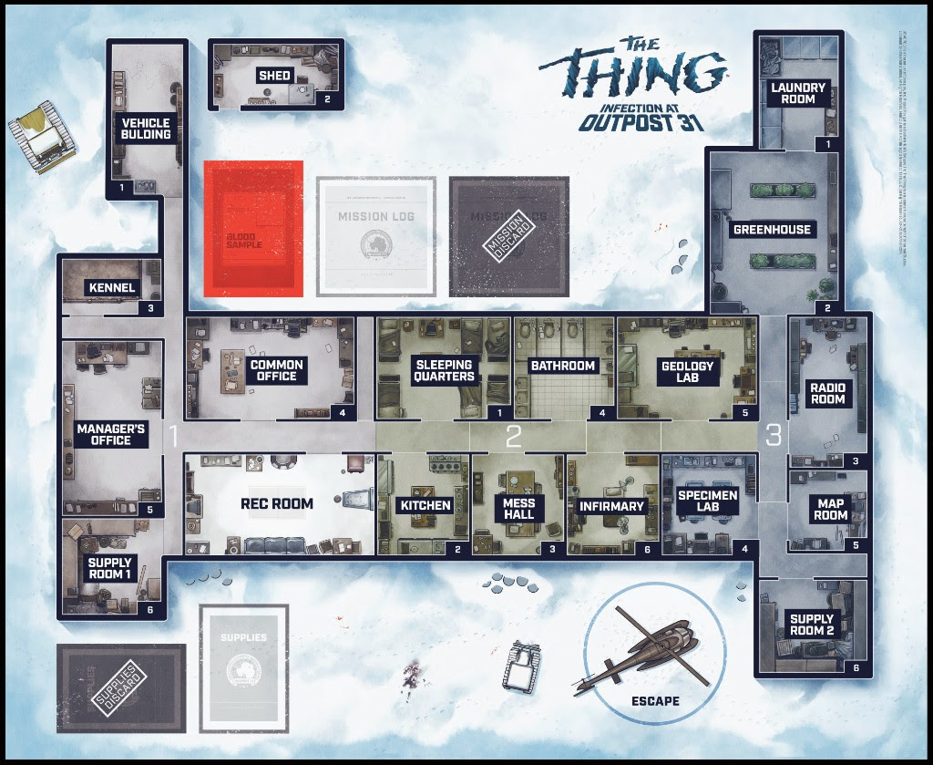 The Thing Board Game 2