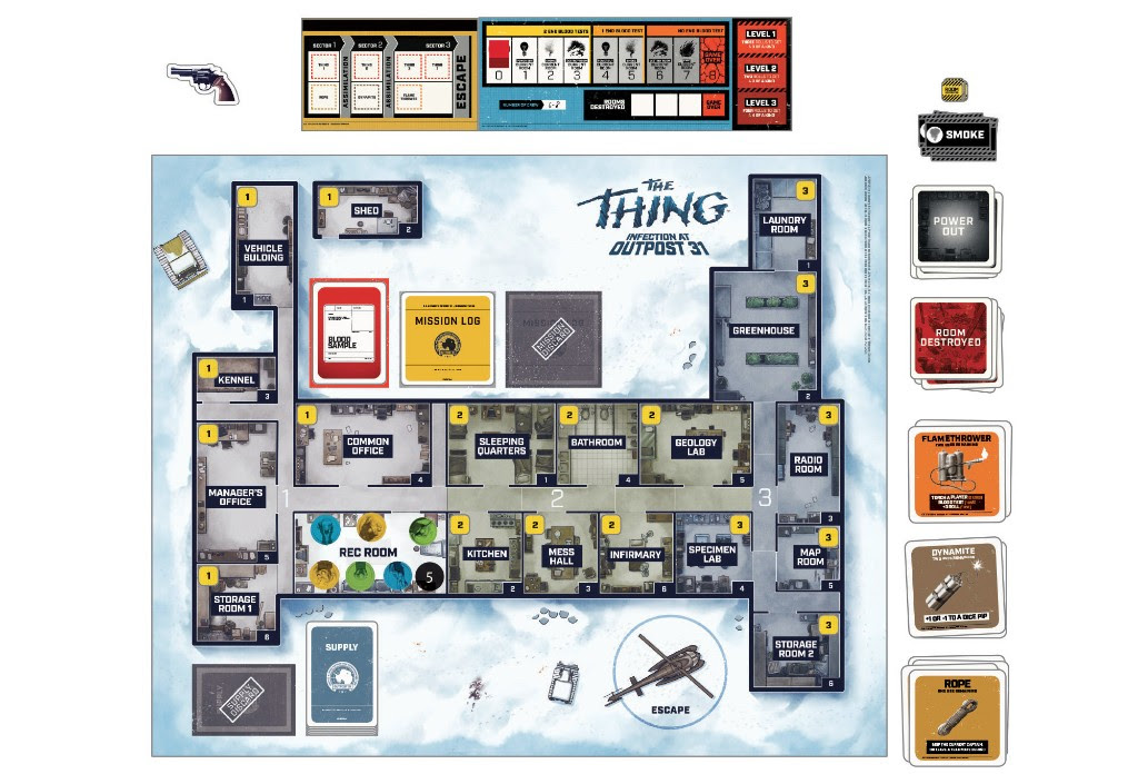 The Thing Board Game 3
