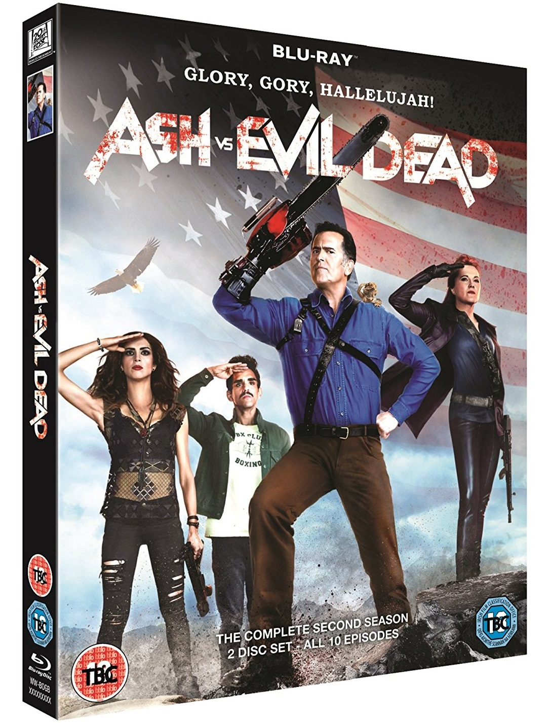 Ash vs. Evil Dead Second Season UK Blu-Ray