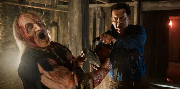 """Ash vs. Evil Dead"" Complete Second Season is Heading to (UK) Blu-Ray"