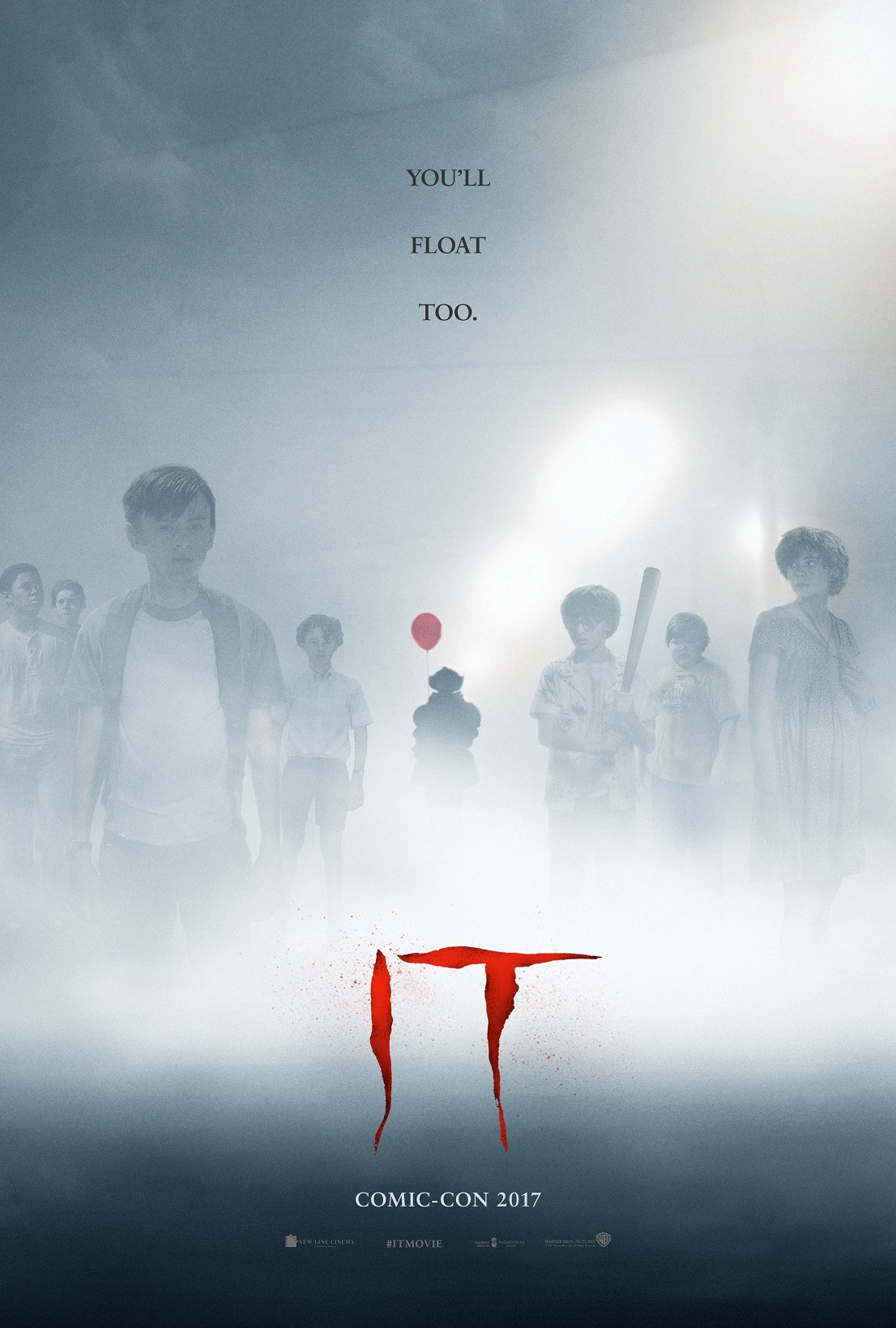 IT Poster Pennywise Lurks