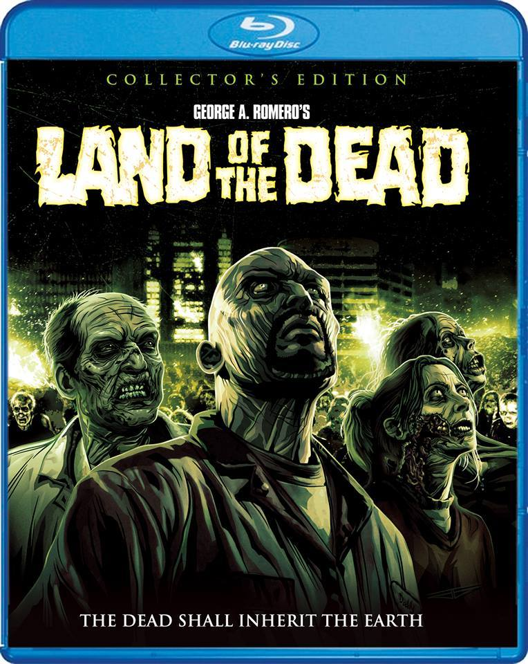 Land of the Dead USA Blu-Ray