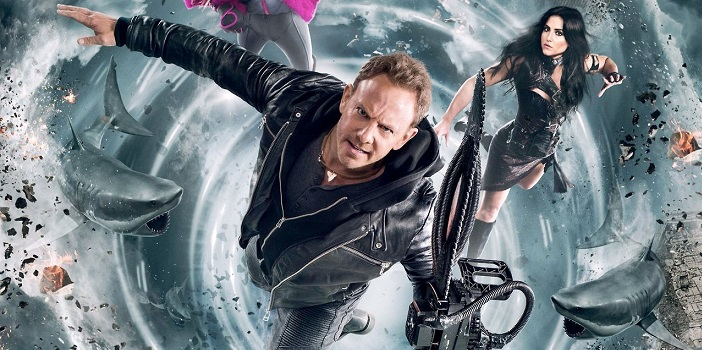 America Becomes Bait on This New 'Sharknado 5: Global Swarming' Poster