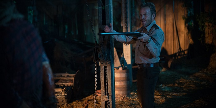 Another New Poster Emerges for Alexandre Bustillo's 'Leatherface' Prequel