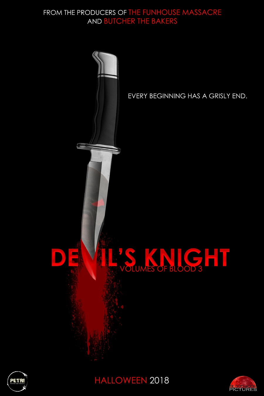 Volumes of Blood 3 Devil's Knight Poster