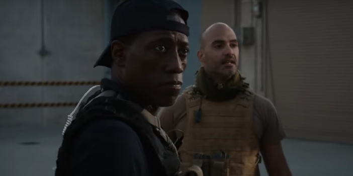 Official Trailer Drops for WWE's 'Armed Response' Starring Wesley Snipes