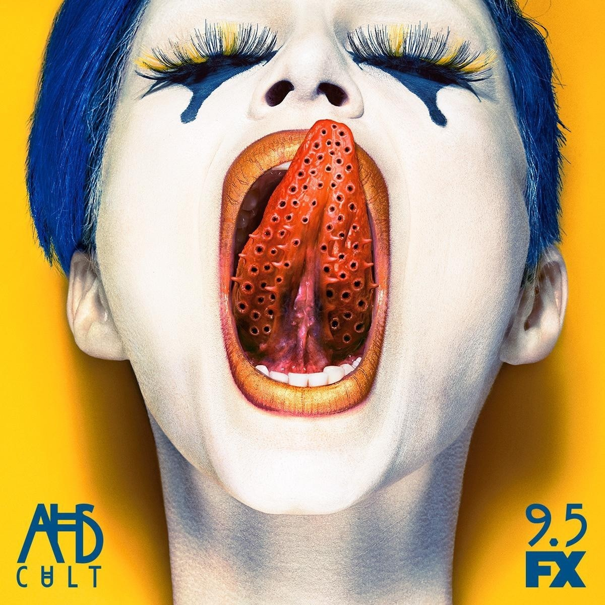 American Horror Story Cult Tongue Poster