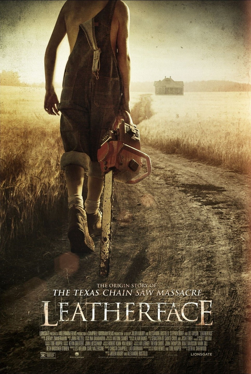 Leatherface Chainsaw Poster