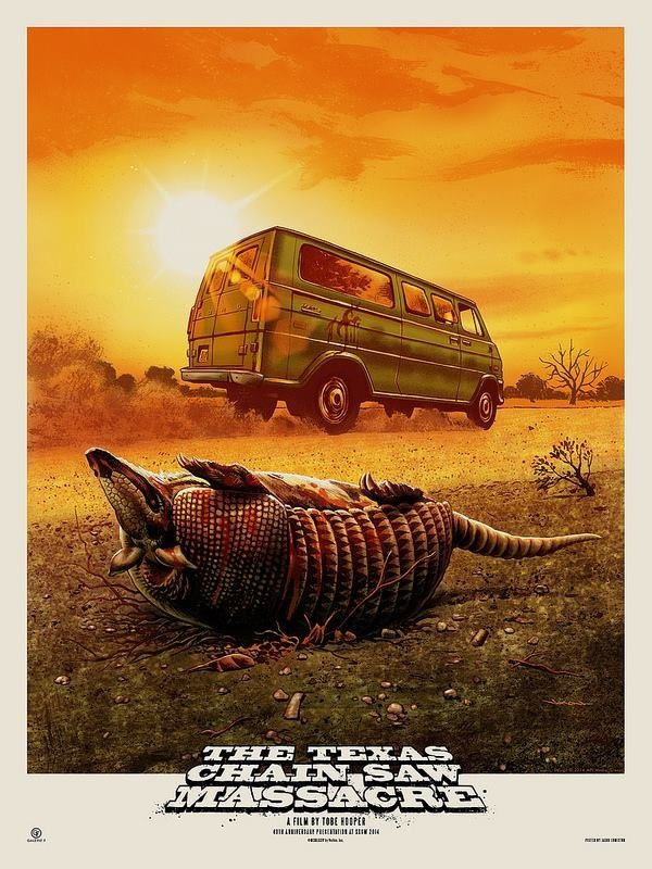 Texas Chainsaw 4K Art