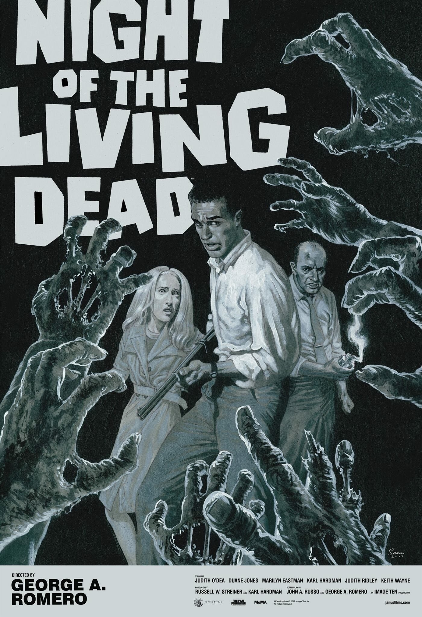 Night of the Living Dead 4K Poster