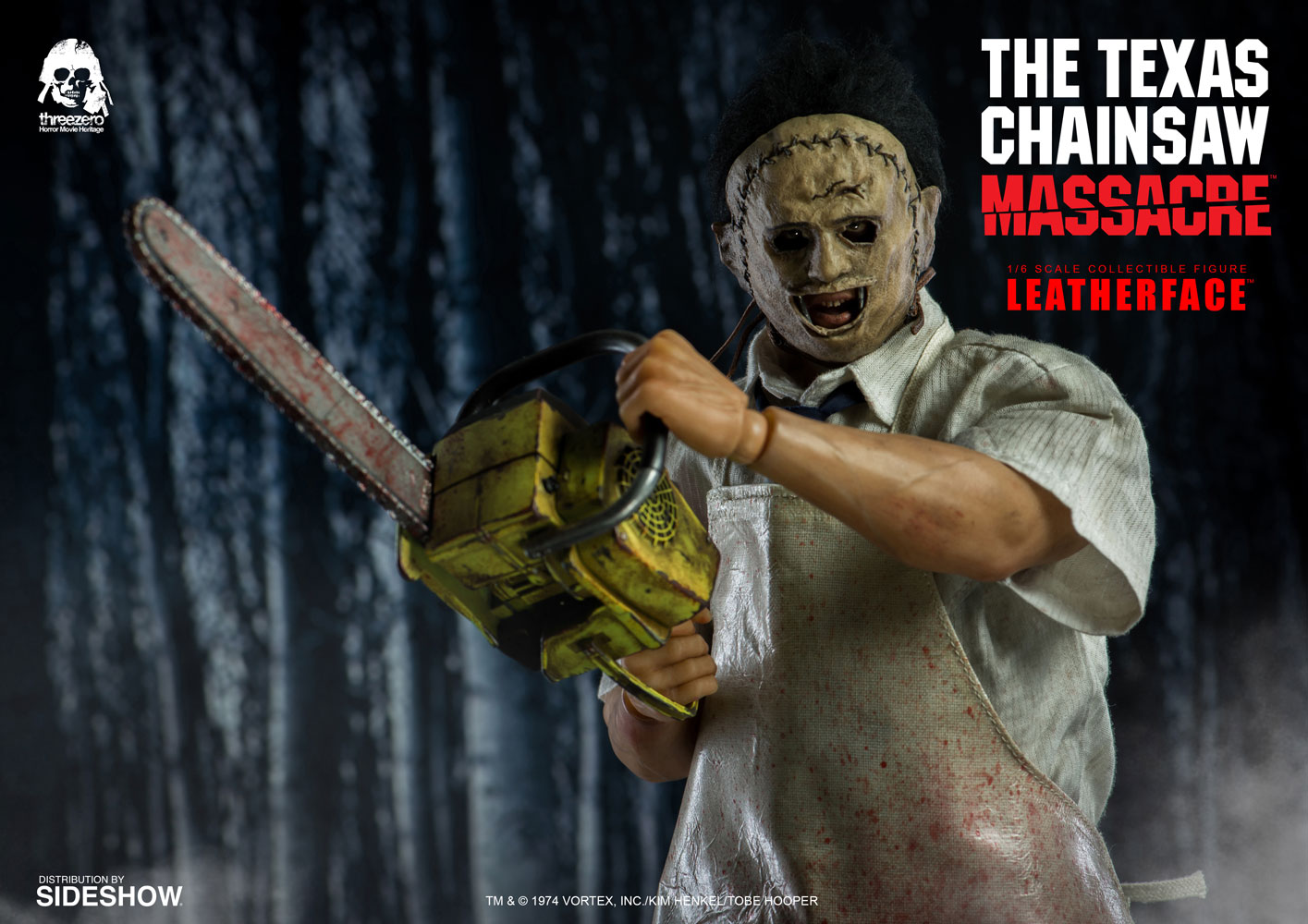 Leatherface Sixth Scale Figure 3