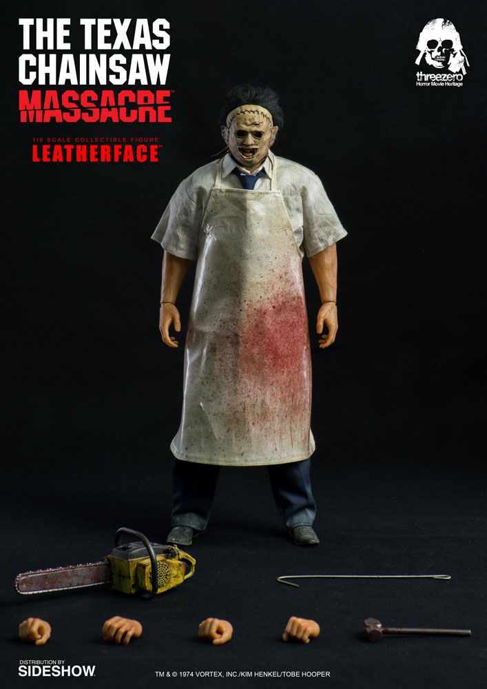 Leatherface Sixth Scale Figure 5