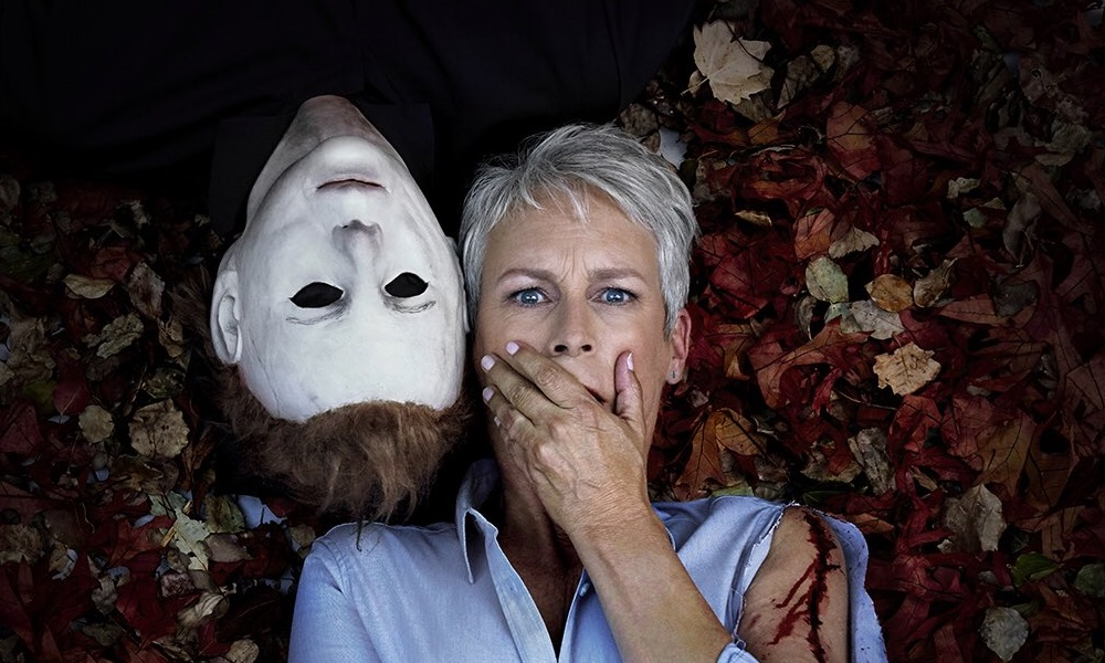 Michael Myers and Laurie-Strode Halloween