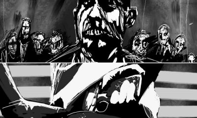 Rise of the Living Dead Storyboard