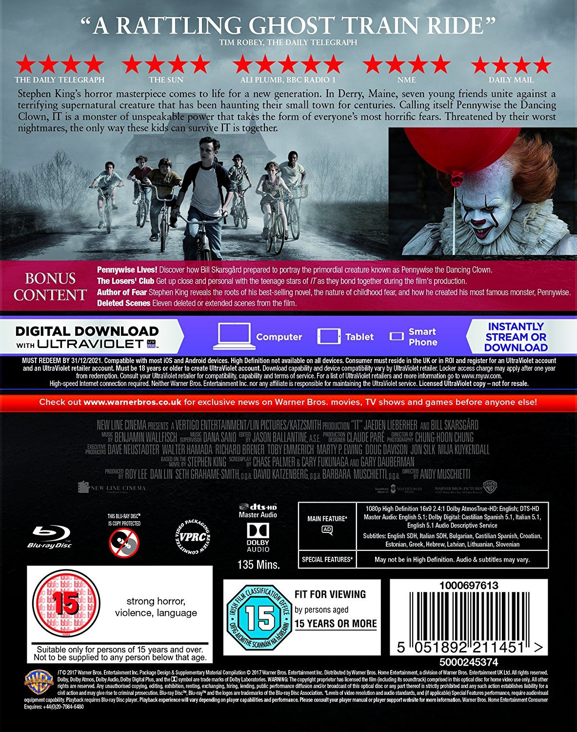 IT UK Blu-Ray Back