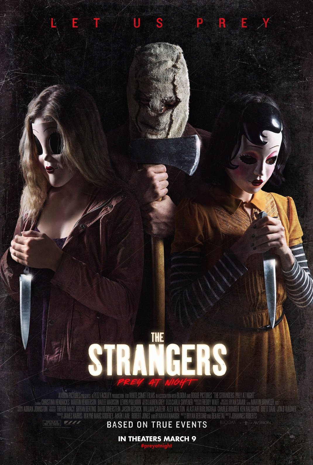 Strangers Prey at Night Poster