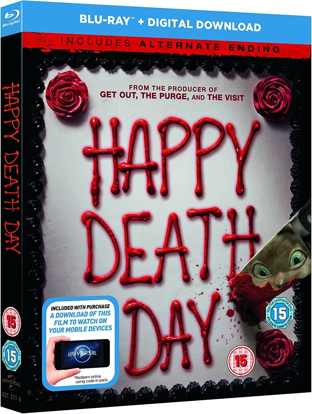 Happy Death Day UK Blu-Ray