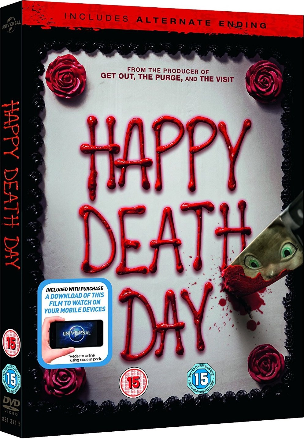 Happy Death Day UK DVD