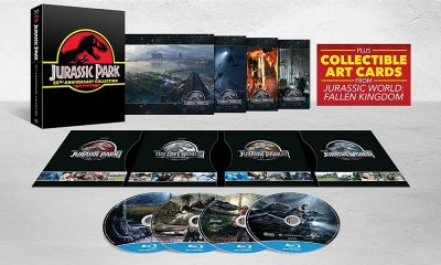 Jurassic Park 25th Anniversary Collection UK Blu-Ray