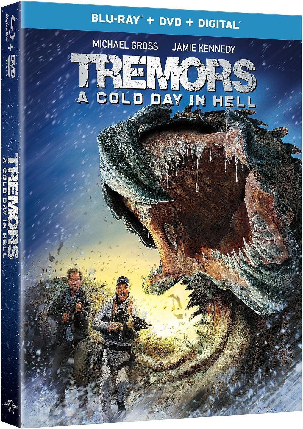 Tremors A Cold Day in Hell Blu-Ray