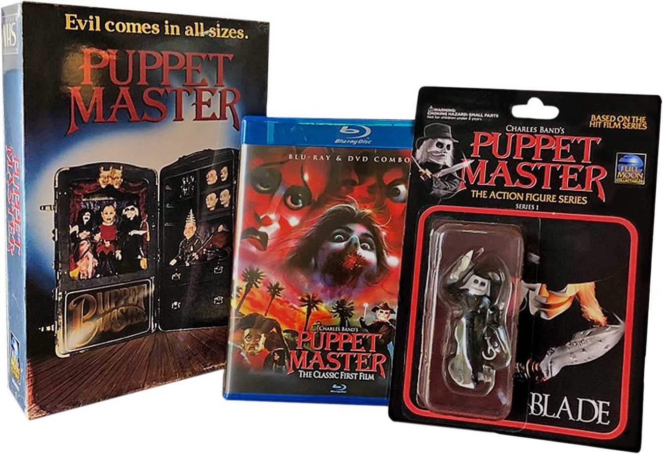 Puppet Master UK Blu-Ray Set