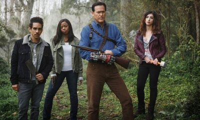 """Bruce Campbell Says Goodbye to """"Ash vs. Evil Dead"""" After Starz Cancels the Show"""