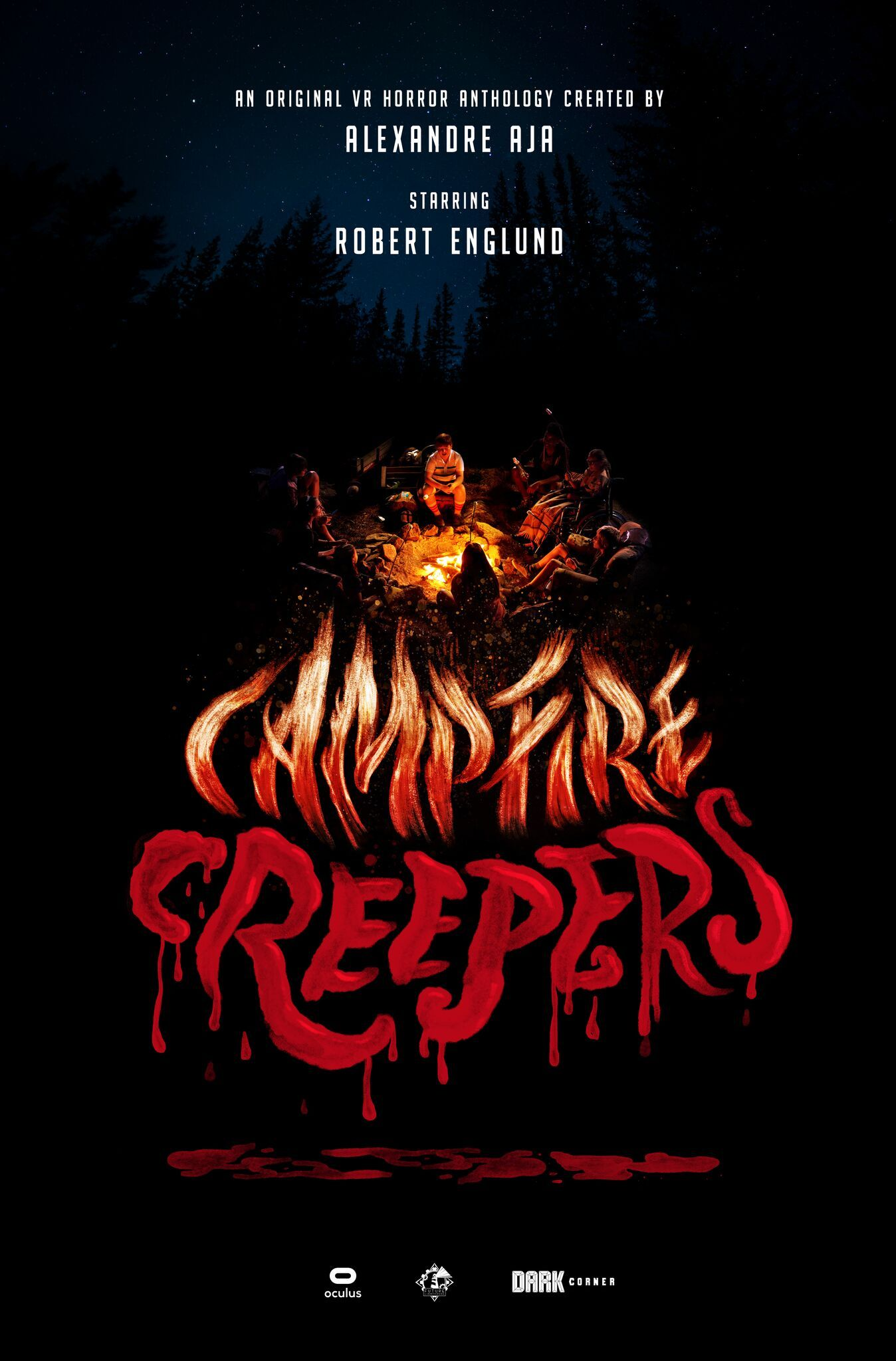Campfire Creepers Poster
