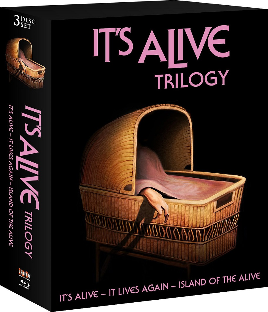 It's Alive Trilogy Blu-Ray