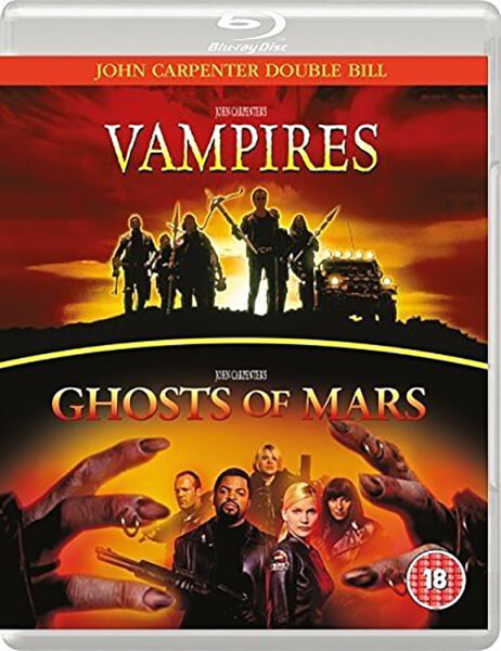 John Carpenter's Vampires and Ghosts of Mars UK Blu-Ray
