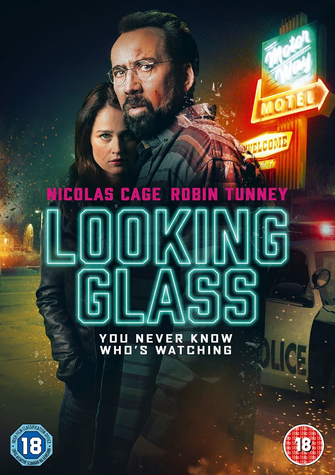 Nicolas Cage Looking Glass UK DVD